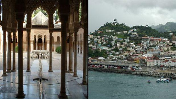 Quería visitar la Alhambra en España y terminó en una isla caribeña