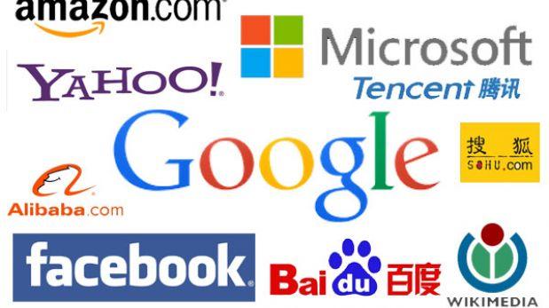 Estas son las diez empresas que mandan en internet