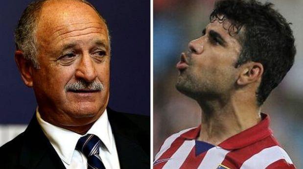 """'Felipao' Scolari: """"Diego Costa ha dado la espalda a un sueño de millones"""""""