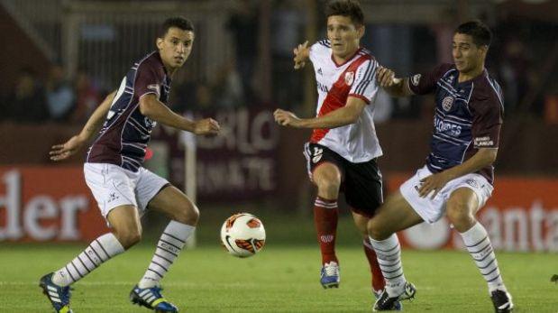 Copa Sudamericana: River Plate y Lanús igualaron 0-0 en partido de ida