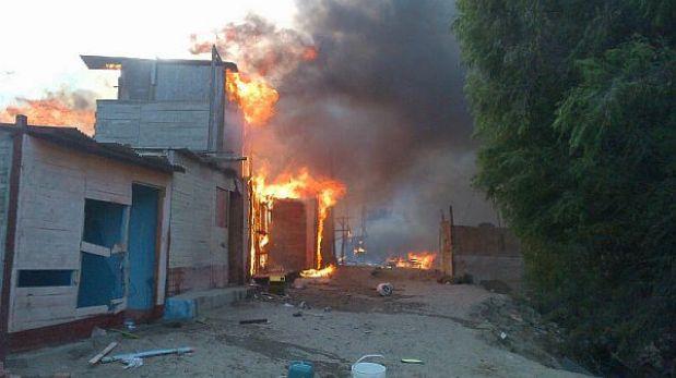 Incendio en el Callao fue controlado luego de más de tres horas