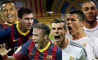 Barcelona, Real Madrid y sus arrolladores ataques: ¿Cuál es mejor?