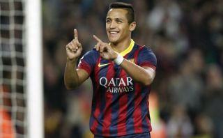 El Barza venció al Espanyol con gol de Alexis tras genialidad de Neymar