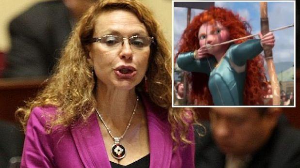 Eliane Karp se comparó con personaje del cine tras su presentación en el Congreso