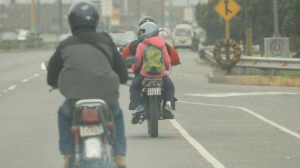 Lucha contra la delincuencia: motos lineales no podrían llevar pasajeros