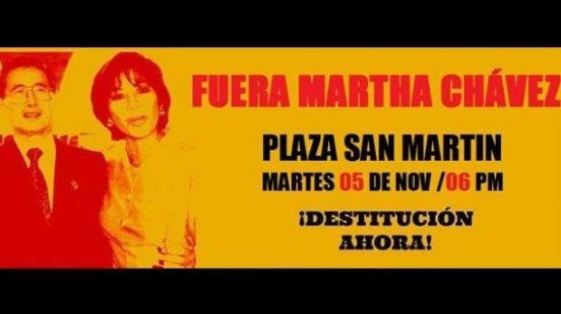 Elección de Martha Chávez como coordinadora de DD.HH. genera controversia