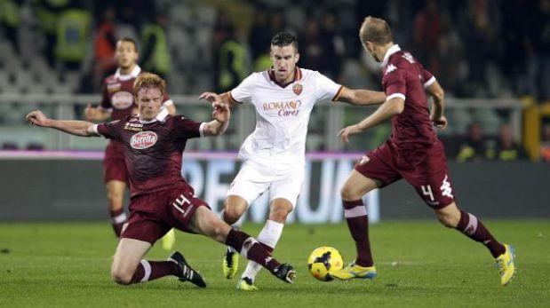 Roma empató con Torino y frenó su racha de triunfos consecutivos