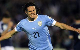 Uruguay confirmó a Edinson Cavani para jugar el repechaje ante Jordania