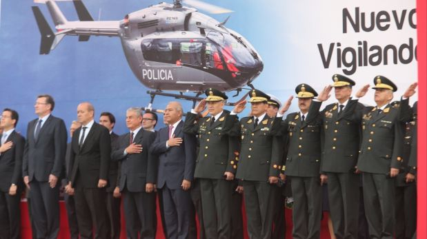 El nuevo helicóptero de la Policía para el patrullaje y la lucha contra la delincuencia [FOTOS]