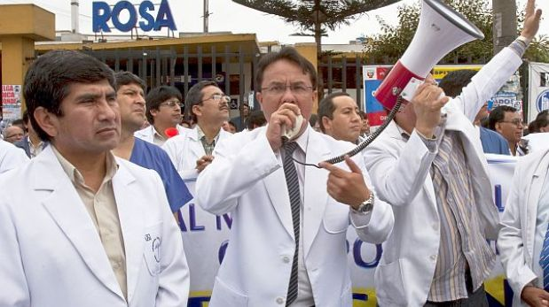 Médicos y trabajadores del Minsa acatarían nueva huelga este jueves 21