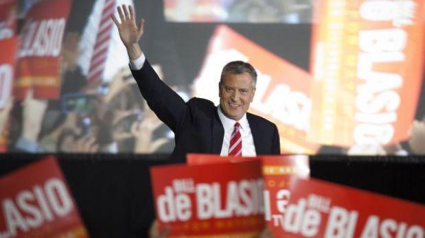 Bill de Blasio es el nuevo alcalde de Nueva York, según primeros sondeos