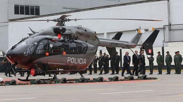 Gobierno compró cuatro helicópteros al mismo grupo empresarial que busca vender satélite