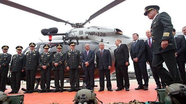 Ministro del Interior confirmó que helicópteros solo serán para emergencias