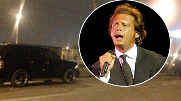 Luis Miguel abandonó disconforme su hotel en Miraflores