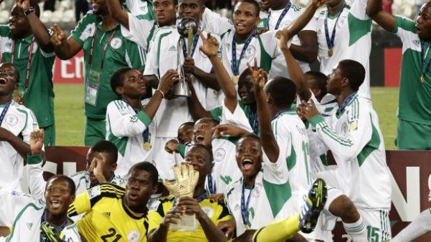 Nigeria se consagró tetracampeón mundial Sub 17 al derrotar a México