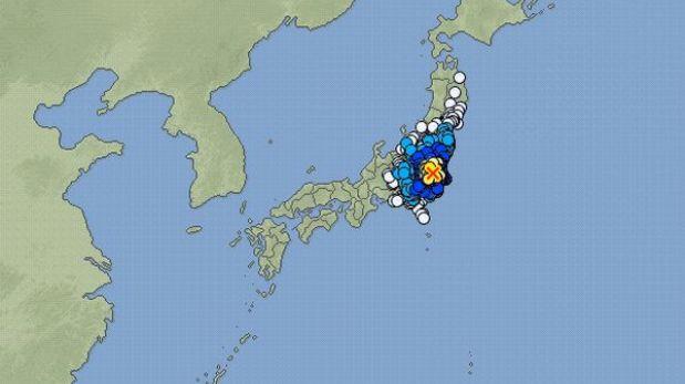 Sismo de 5,5 grados en la escala de Richter sacudió zona este de Japón