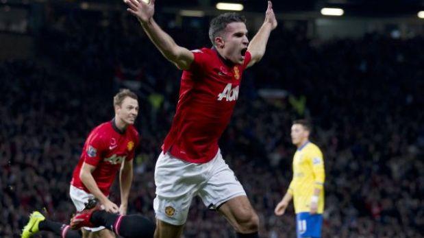 Manchester United derrotó 1-0 al líder Arsenal en Old Trafford