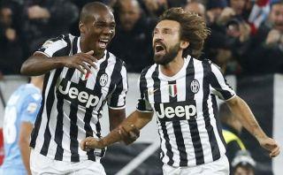 Juventus apabulló 3-0 al Napoli con golazo de Pirlo [VIDEO]