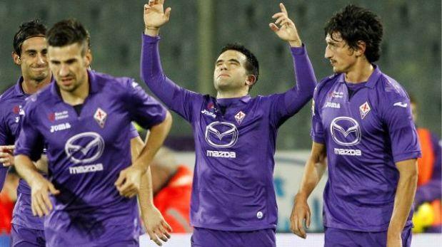 Fiorentina venció 2-1 a Sampdoria con Juan Manuel Vargas en cancha