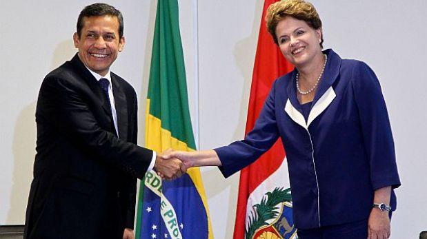 Presidentes del Perú y Brasil impulsan alianza estratégica