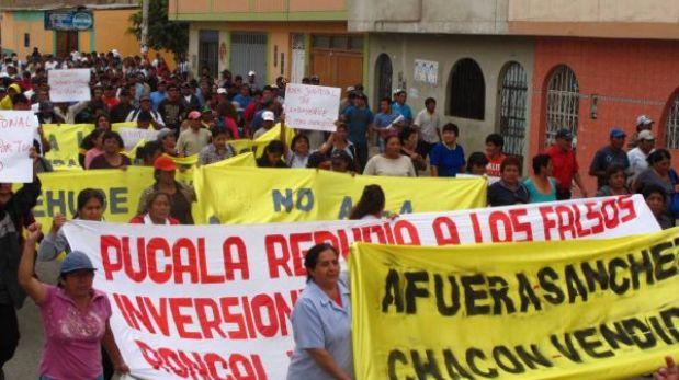 Chiclayo: trabajadores de azucarera Pucalá intentaron tomar colegio sede de Bolivarianos