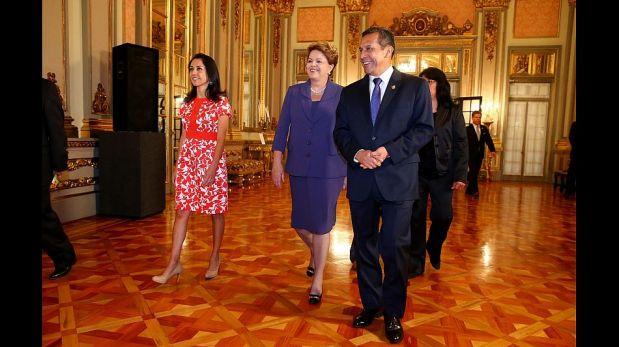 La visita de Dilma Rousseff a Palacio de Gobierno [FOTOS]