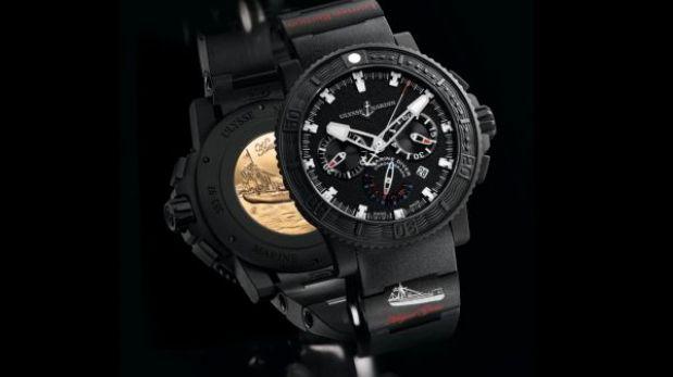 Reloj suizo de US$17.000 rinde homenaje al héroe Miguel Grau