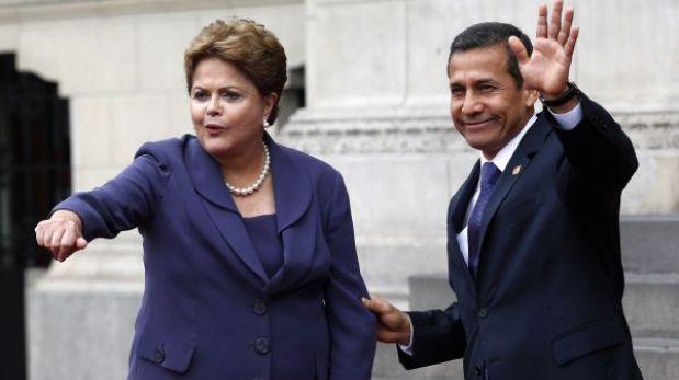¿A qué importantes acuerdos llegaron los presidentes Humala y Rousseff?