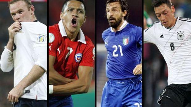 Inglaterra ante Chile e Italia vs. Alemania entre los amistosos del viernes