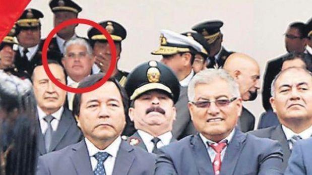 Policía Nacional del Perú protege a un operador de Vladimiro Montesinos