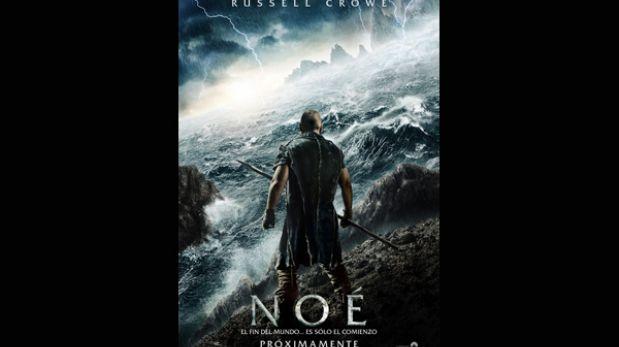 Russell Crowe se convierte en Noé en nueva película sobre el personaje bíblico