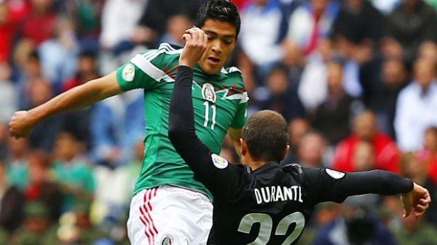 Mexicó goleó 5-1 a Nueva Zelanda y dio un paso gigante hacia Brasil 2014
