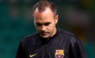 Iniesta sigue sin renovar con Barcelona y Manchester United va por él