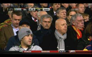 Mourinho llegó al Colombia-Bélgica para llevarse a Falcao al Chelsea