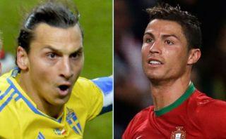 Portugal vs. Suecia: los mejores goles de taco de Cristiano y Zlatan [VIDEO]