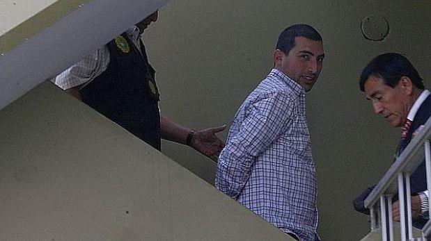 Aldo Castagnola y su guardaespaldas fueron recluidos en Penal de Lurigancho