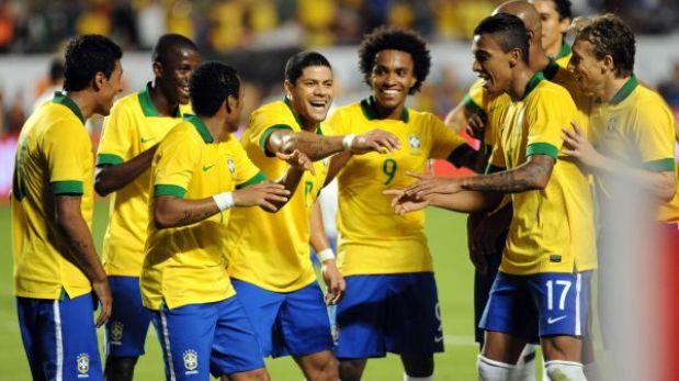 Brasil aplastó 5-0 a Honduras en amistoso con miras al Mundial 2014