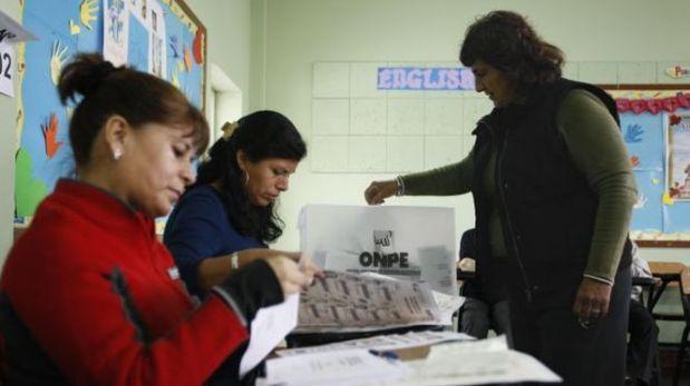 Elecciones en Lima: miembros de mesa no trabajarán el lunes 25 de noviembre