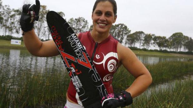Bolivarianos 2013: Delfina Cuglievan ganó primera medalla de oro para Perú