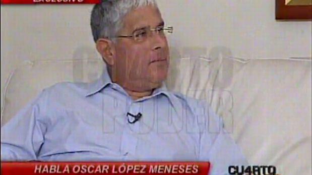 """Óscar López Meneses afirma que policía no cuidaba su casa sino al """"hijo del presidente"""" Humala"""