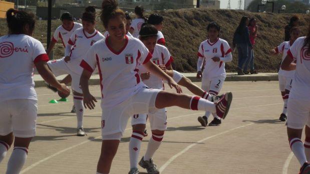 Ellas sí ganaron: la selección femenina Sub 20 de Perú derrotó a República Dominicana en los Bolivarianos 2013 [FOTOS]