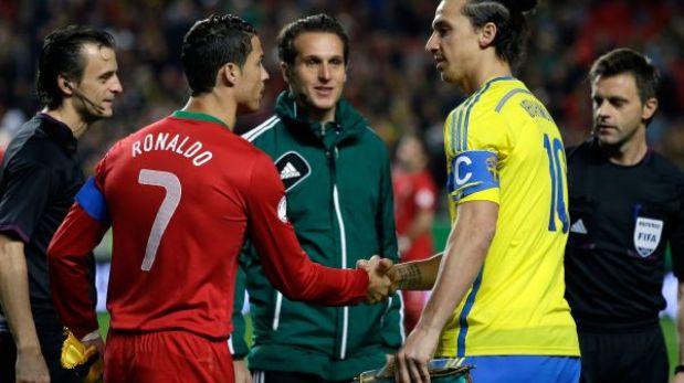 Portugal con Cristiano Ronaldo juega hoy ante Suecia por la clasificación al Mundial Brasil 2014