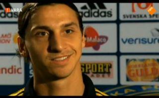 "Ibrahimovic a un periodista: ""Estás hablando con Dios"" [VIDEO]"