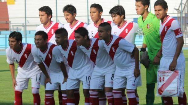Sub 15 de Perú venció 2-1 a Paraguay en su debut en el Sudamericano