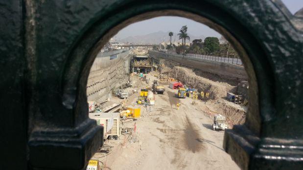Vía Parque Rímac: así avanzan los trabajos antes de la paralización por la crecida del río [FOTOS]