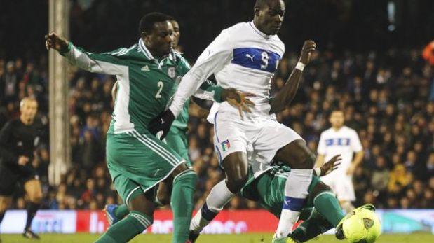 Italia empató 2-2 con Nigeria en preparación a Brasil 2014