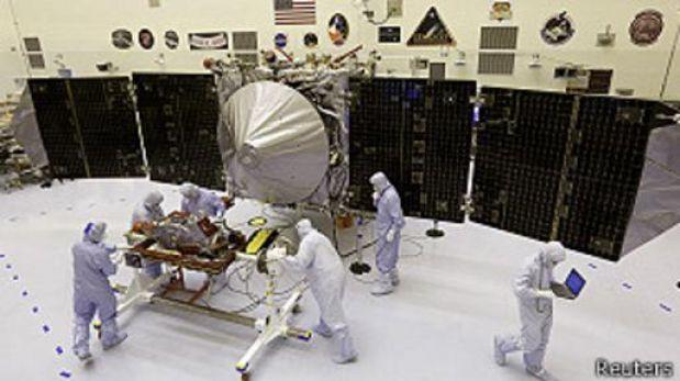 La NASA envió cápsula para estudiar la órbita de Marte