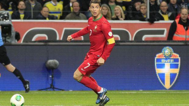 Cristiano Ronaldo tuvo una noche maravillosa y clasificó a Portugal a Brasil 2014 [FOTOS]