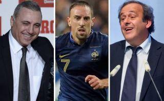 Stoichkov asegura que Ribéry ganará el Balón de Oro porque Platini es francés