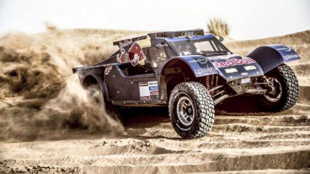 Este es el espectacular auto que usará Carlos Sainz en el Dakar 2014